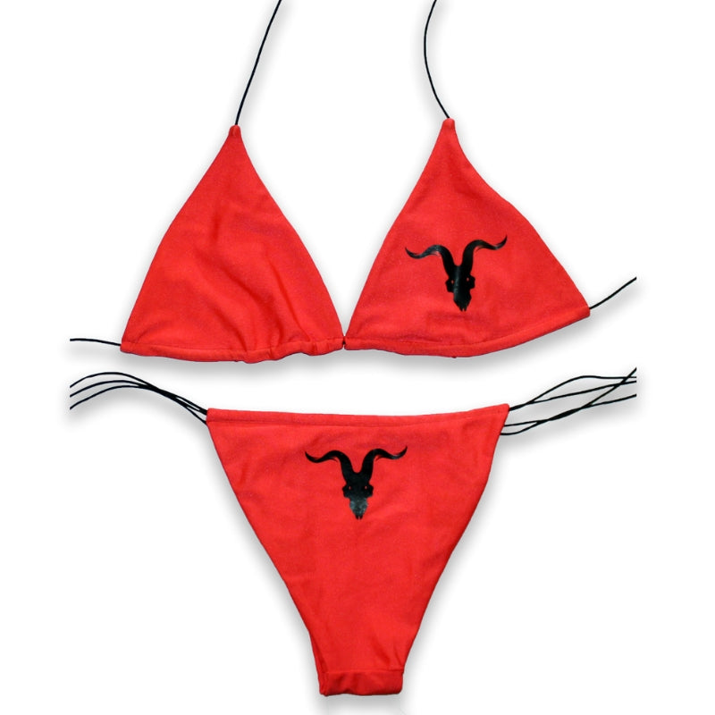 Ignite Premium Classic Red String Bikini - ignite-merch