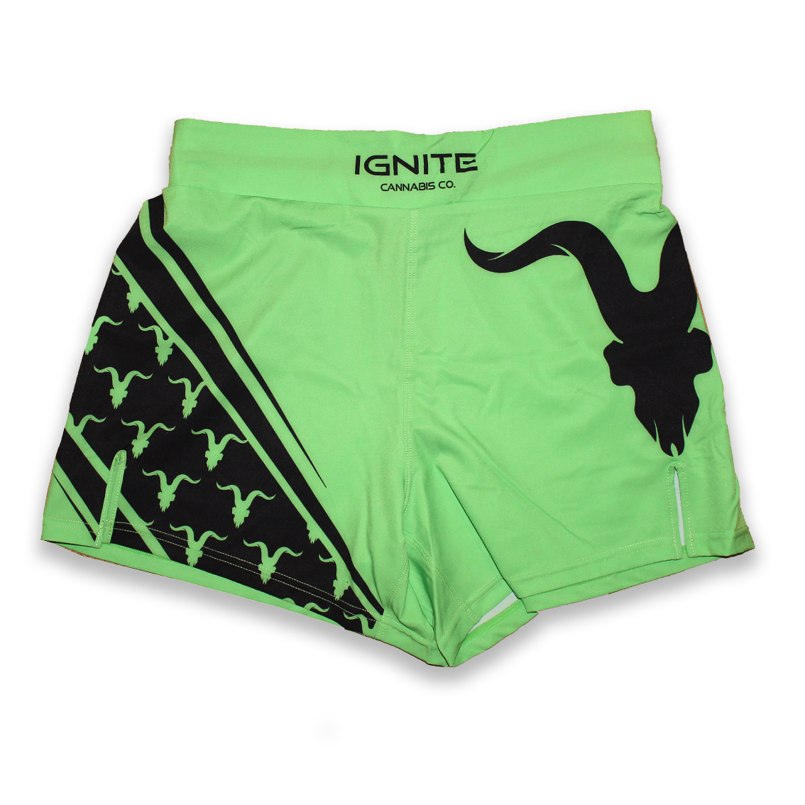 Ignite Premium Collection Green Performance Workout Shorts - ignite-merch
