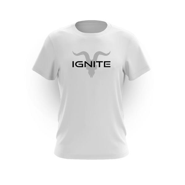 Ignite Core Collection White Logo Tee