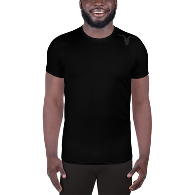Men's Athletic T-shirt - Black - ignite-merch