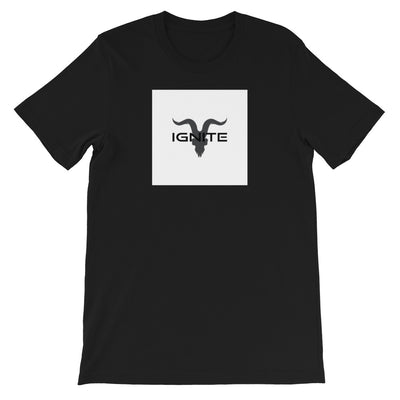 LOGO IN BOX MENS - Short-Sleeve Unisex T-Shirt - ignite-merch