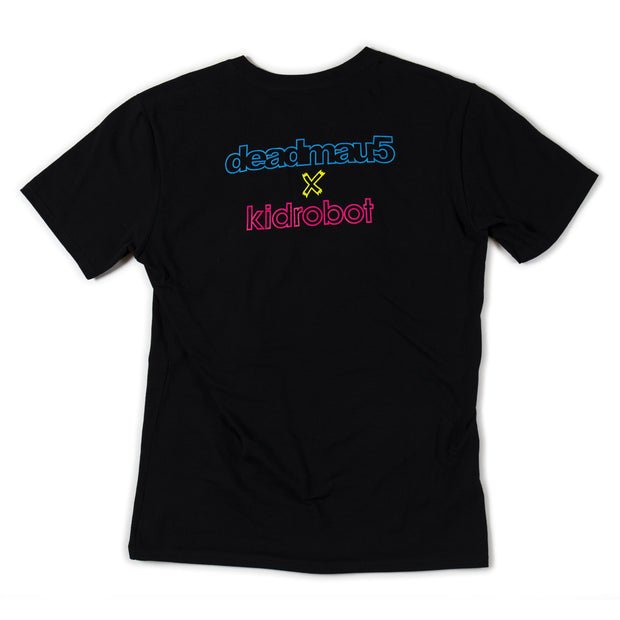 deadmau5 x Kid Robot Fluorescent Tee