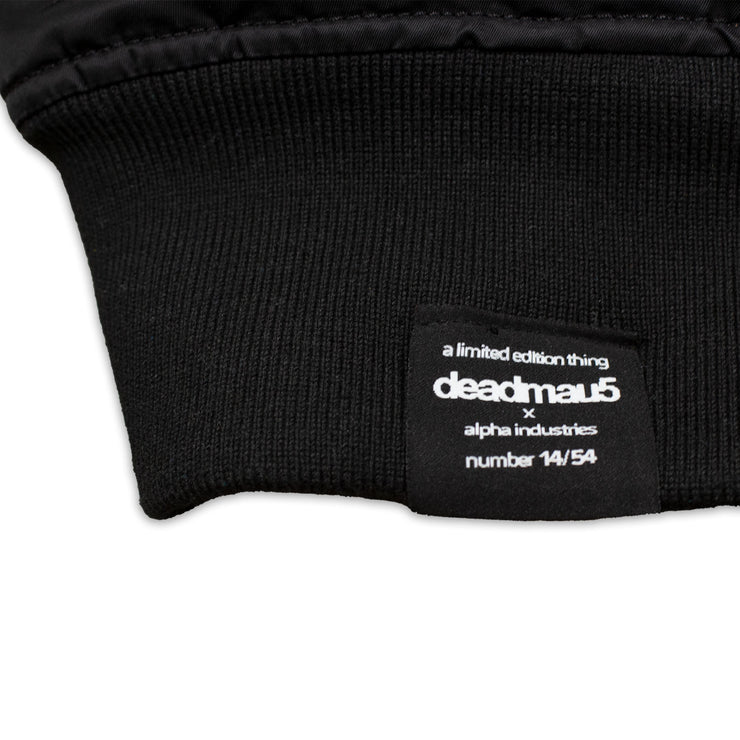 deadmau5 x alpha industries limited edition bomber