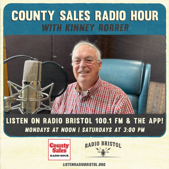 County Sales Radio Hour on Radio Bristol!