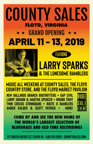 County Sales Grand Re-Opening April 11 - 14, 2019