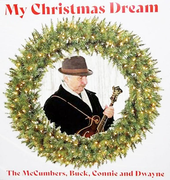 THE MCCUMBERS 'My Christmas Dream' BUCK-2020-CD