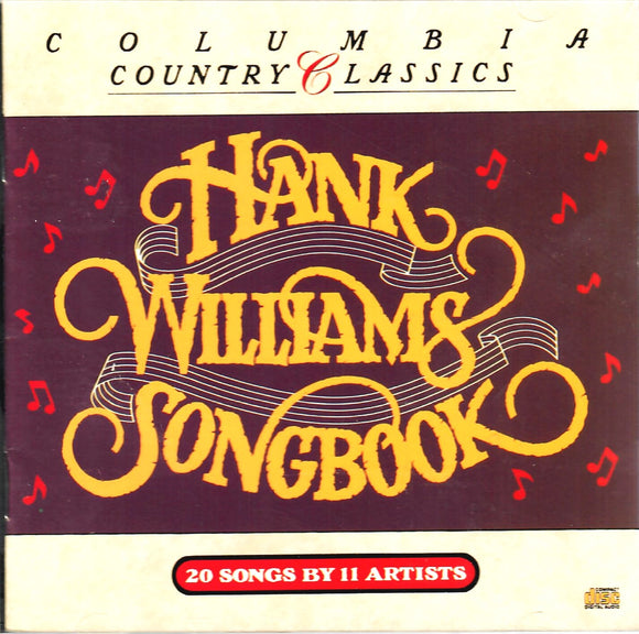 COLUMBIA COUNTRY CLASSICS 'Hank Williams Songbook'  CK-47995