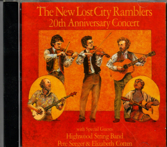 NEW LOST CITY RAMBLERS '20TH ANNIVERSARY CONCERT' FF-70090