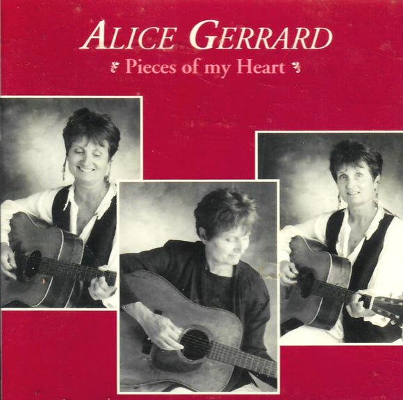 ALICE GERRARD 'PIECES OF MY HEART' CCCD-0134