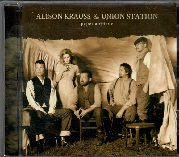 ALLISON KRAUS & UNION STATION 'PAPER AIRPLANE' ROU-0665