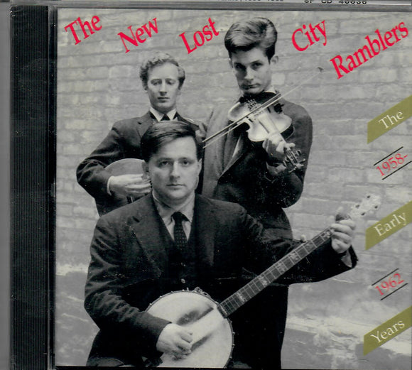 NEW LOST CITY RAMBLERS 'EARLY YEARS 1958-62' SF-40036