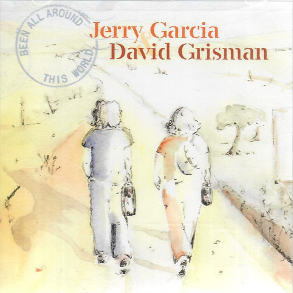 JERRY GARCIA & DAVID GRISMAN 'BEEN ALL AROUND THIS WORLD' ACD-57