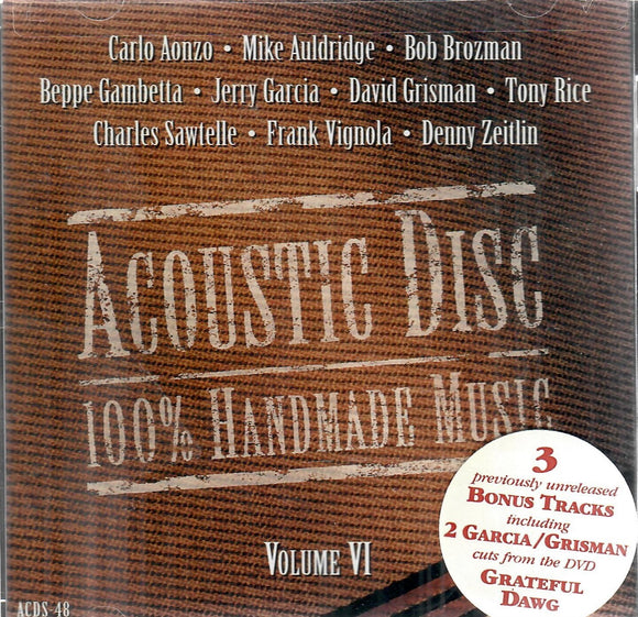 ACOUSTIC DISC: 100% HANDMADE MUSIC VOL. 6' ACD-48