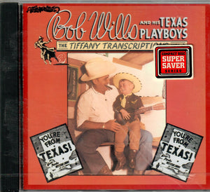 BOB WILLIS AND HIS TEXAS PLAYBOYS 'THE TIFFANY TRANSCRIPTIONS VOL. 4' RHINO-71472