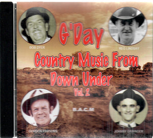 G'DAY COUNTRY MUSIC FROM DOWN UNDER VOL. 2   BACM-604-CD