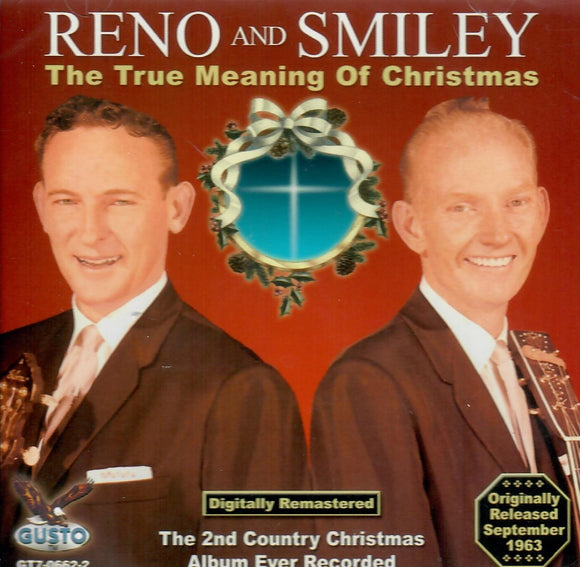 RENO AND SMILEY 'THE TRUE MEANING OF CHRISTMAS' GUSTO-0662