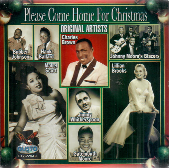 VARIOUS 'Please Come Home for Christmas' GUSTO-2253-CD