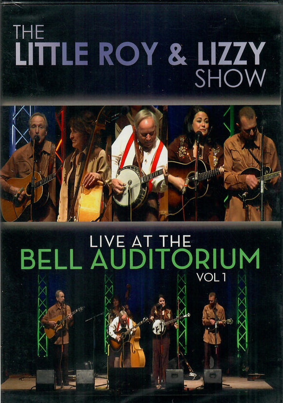 Little Roy & Lizzy Show (Live at the Bell Auditorium Vol. 1 - DVD) TMS-7331