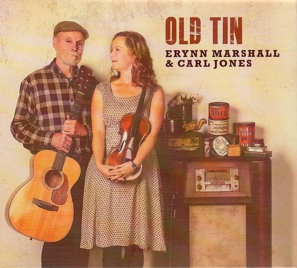ERYNN MARSHALL & CARL JONES 'Old Tin' DITTY-009-CD