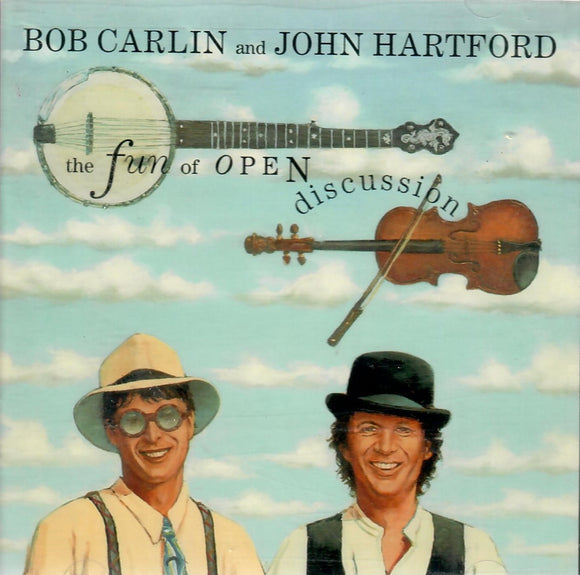 Bob Carlin & John Hartford 'The Fun Of Open Discussion' ROU-0320