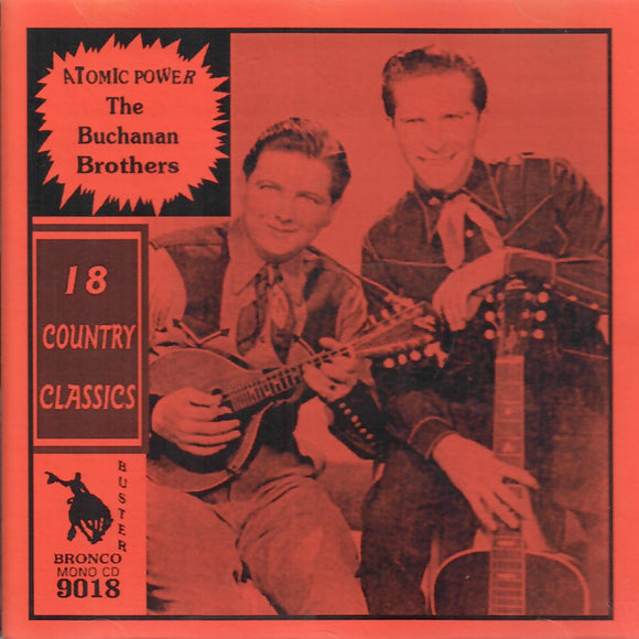 The Buchanan Brothers '18 Country Classics' CD-9018