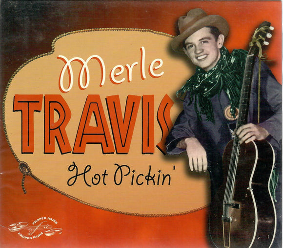 Merle Travis 'Hot Pickin' PVCD-123