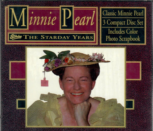 Minnie Pearl 'The Starday Years' 3 CD Set STARDAY-3509
