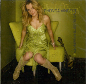 RHONDA VINCENT 'All American Bluegrass Girl' ROU-0580-CD