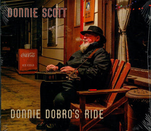DONNY SCOTT 'Donnie Dobro's Ride' PATUX-322-CD