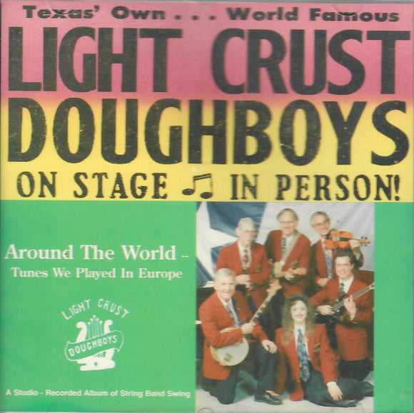 THE LIGHT CRUST DOUGHBOYS 'Around The World: Tunes We Played In Europe' DB-1008-CD