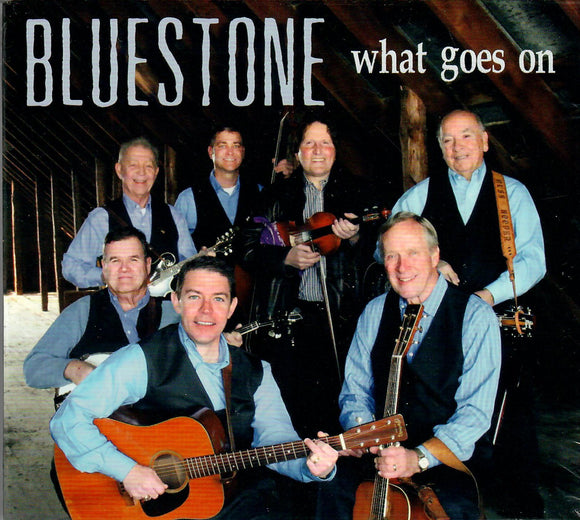 BLUESTONE 'What Goes On' PATUX-272-CD