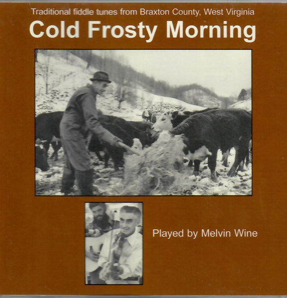MELVIN WINE 'Cold Frosty Morning' ROANE-117-CD