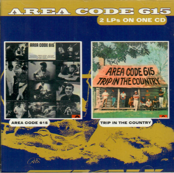 AREA CODE 615 'Trip In The Country' KOC-8109-CD