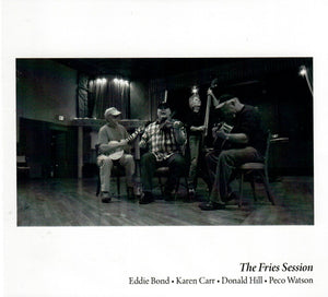 EDDIE BOND, KAREN CARR, DONALD HILL, PECO WATSON 'Fries Session' NMAS-006-CD