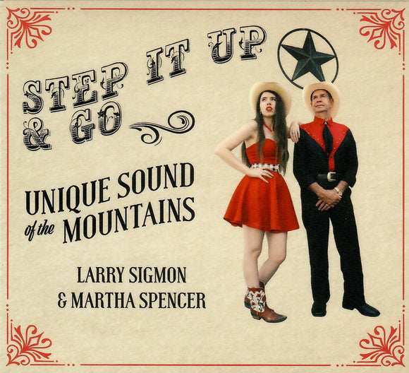 LARRY SIGMON & MARTHA SPENCER 'Step It Up And Go' SIGMON-2020-CD
