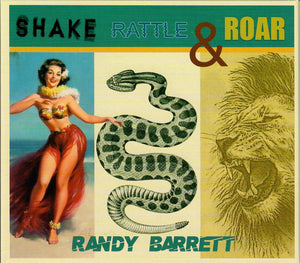 RANDY BARRETT 'Shake, Rattle & Roar' PATUX-339-CD