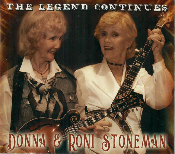 DONNA & RONI STONEMAN 'The Legend Continues' PATUX-340-CD