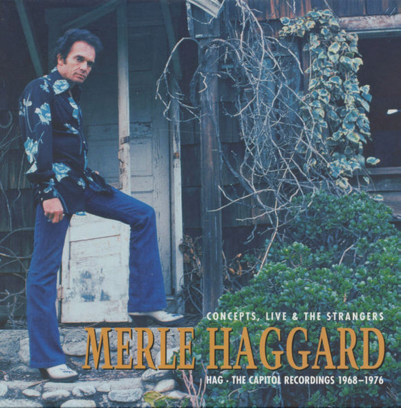 MERLE HAGGARD 'Hag - Concepts, Live and The Strangers' BCD-16782-CD