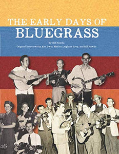 VARIOUS 'The Early Days of Bluegrass' BCF-101-CD/BOOK