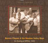 BENTON FLIPPEN & THE SMOKEY VALLEY BOYS 'An Evening AT WPAQ, 1984' 5SP-8004-CD