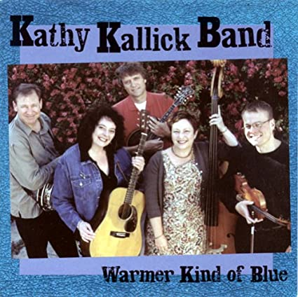 KATHY KALLICK BAND 'Warmer Kind of Blue' CCCD-0237-CD