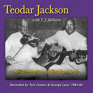 TEODAR JACKSON 'African-American Fiddling from Texas' FRC-728-CD