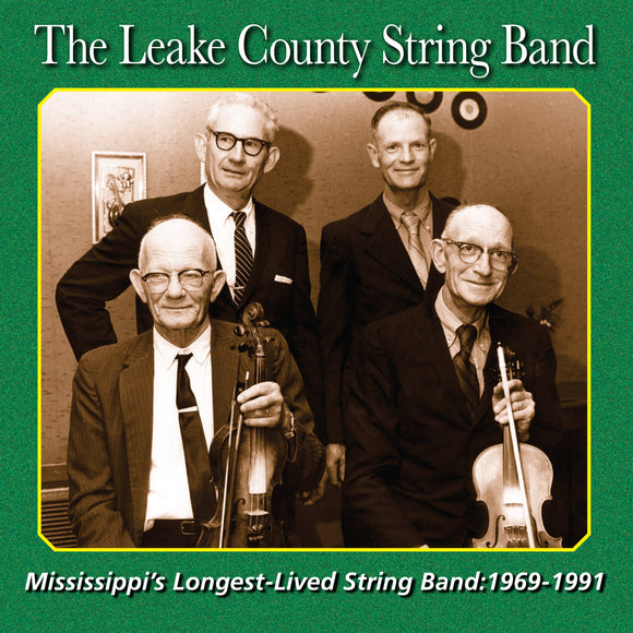 The Leake County String Band '1969-1991' FRC-730-CD