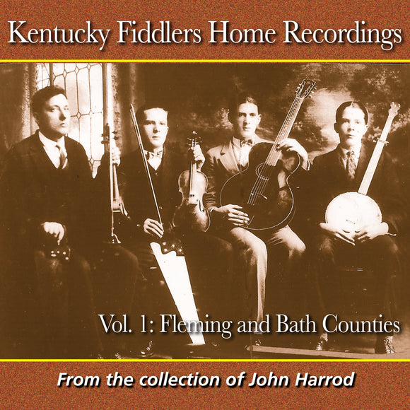VARIOUS 'Kentucky Fiddlers Home Recordings, Vol. 1' FRC-732-CD