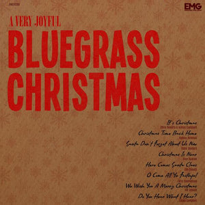 VARIOUS 'A Very Joyful Bluegrass Christmas' EMG-10360-CD
