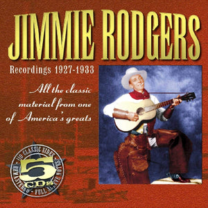 JIMMIE RODGERS '1927-1933' (5CDs) JSP-7704-CD