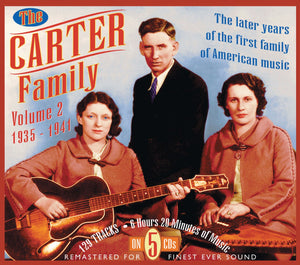 THE CARTER FAMILY '1935-1941 Vol. 2' (5CDs) JSP-7708-CD