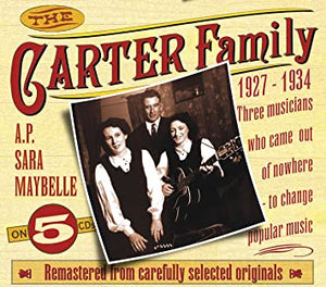 THE CARTER FAMILY '1927-1934 Vol. 1' (5CDs) JSP-7701-CD