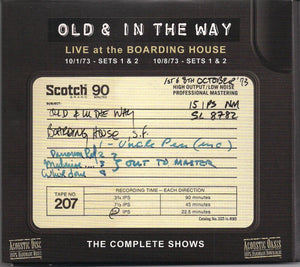 OLD & IN THE WAY 'Live at the Boarding House' ACD-81-4CD