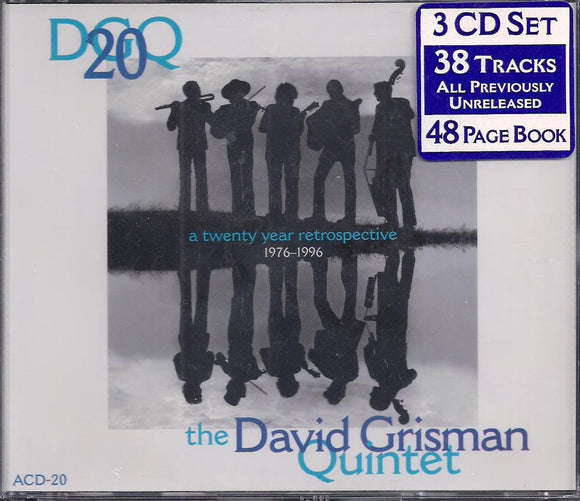 DAVID GRISMAN '20 YEAR RETROSPECTIVE'  ACD-20-3CD